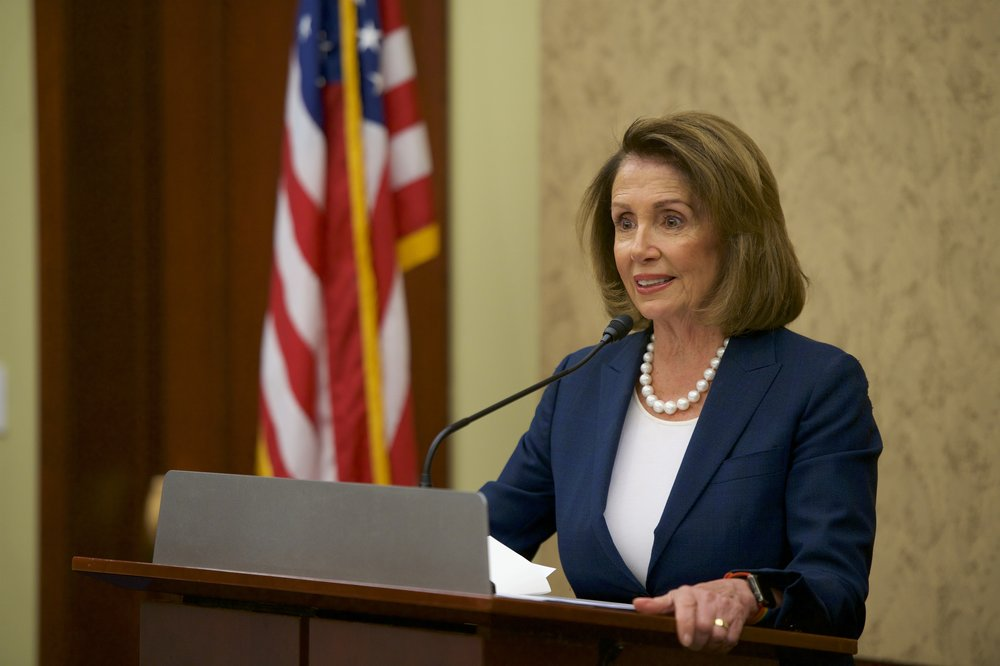 Representative Nancy Pelosi (D-CA)