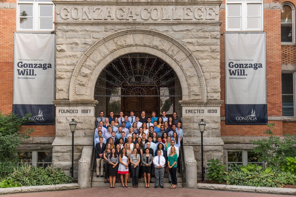 Fall 2017 cohort of medical students entering the University of Washington - Gonzaga University Regional Health Partnership