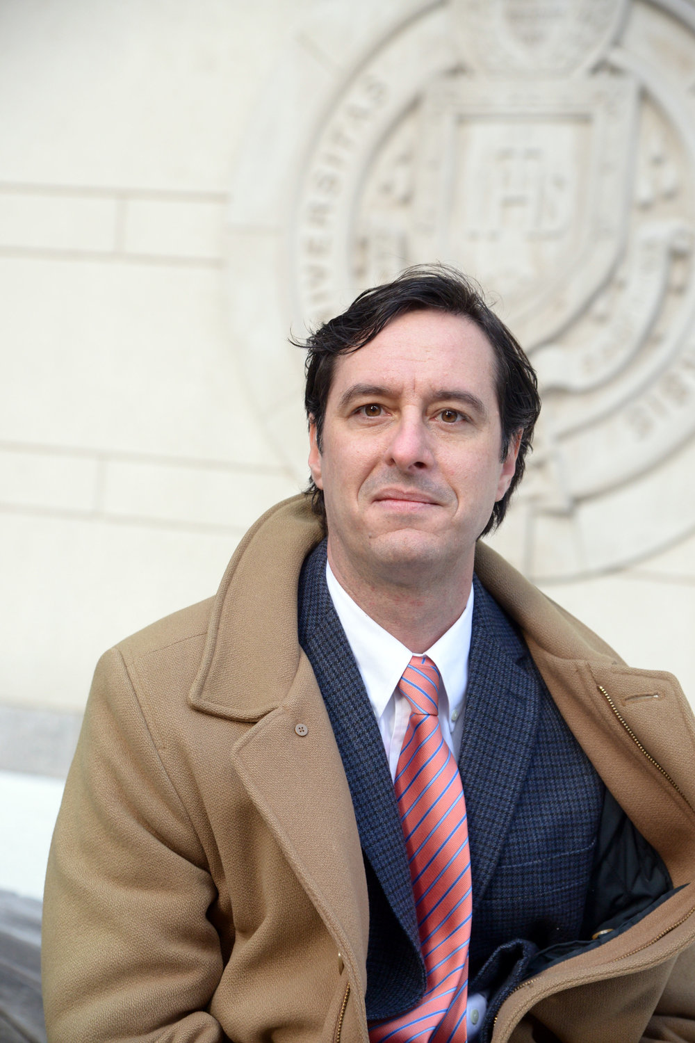 James P. McCartin, Ph.D. (Photo courtesy of Fordham University)
