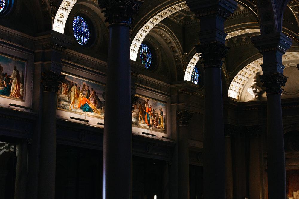 St. Ignatius Church – Interior Detail (photo courtesy of University of San Francisco)