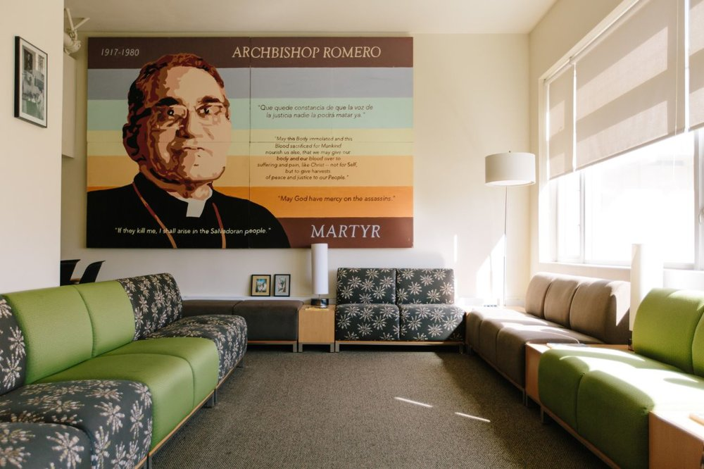 Romero Room (photo courtesy of University of San Francisco)