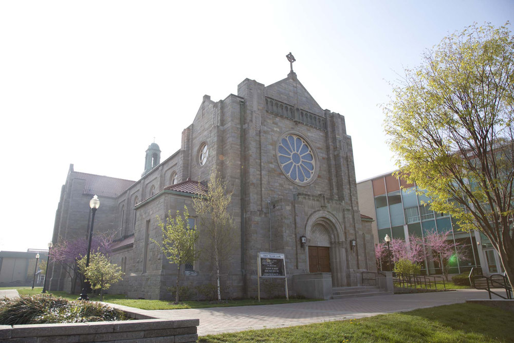 Exterior of Christ the King Chapel (photo courtesy of Canisius College)
