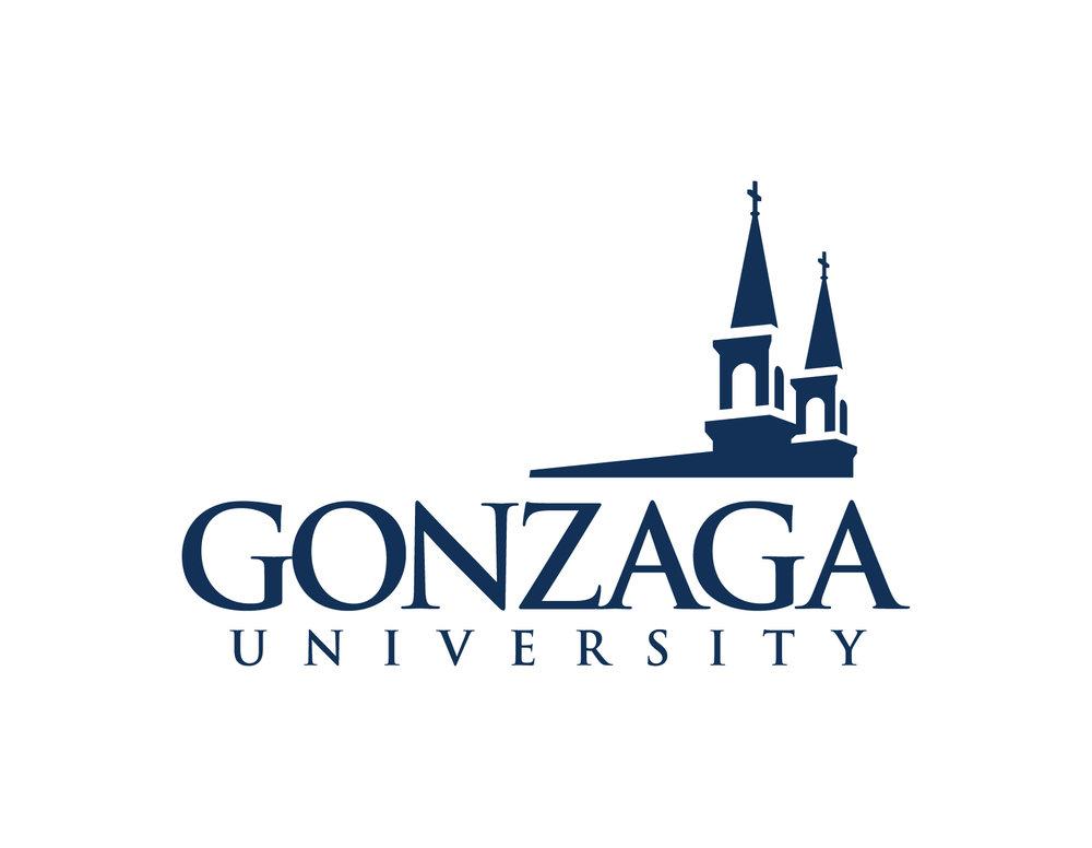 Gonzaga logo courtesy of Gonzaga University