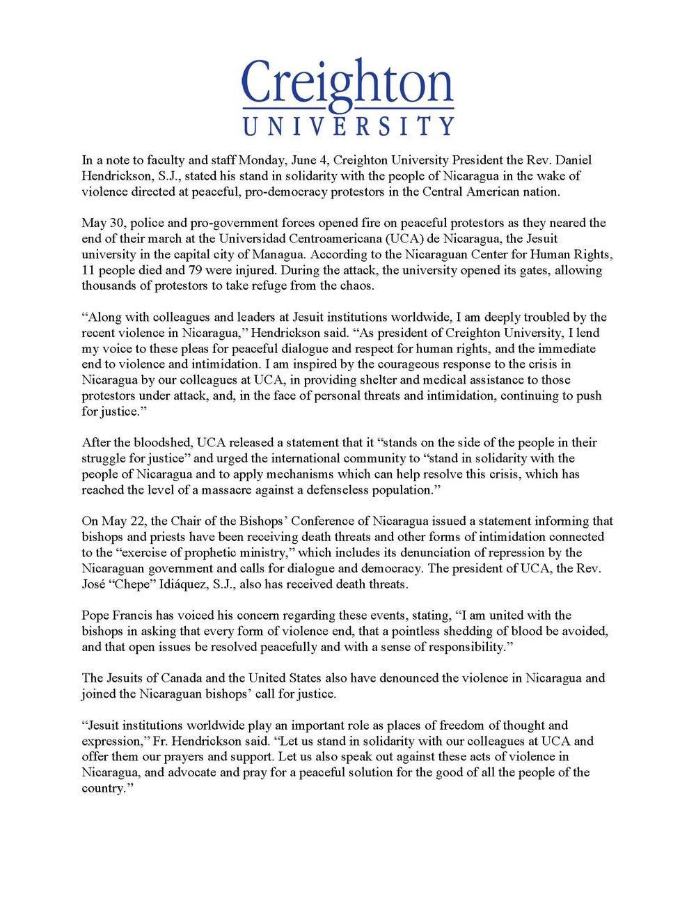 Creighton University (Omaha, NE)