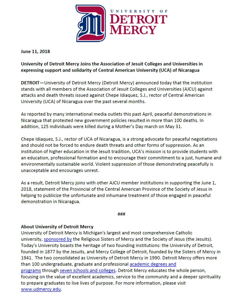 University of Detroit Mercy (Detroit, MI)