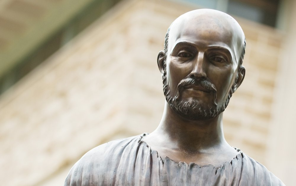 Statue of St. Ignatius Loyola (Photo by rockhurst University)