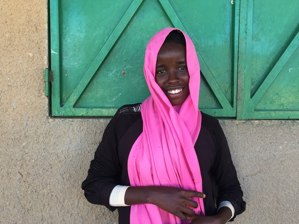Souad Oumar Mohamot, a secondary school student in Iridimi, Chad (photo by Giulia McPherson for JRS/USA)