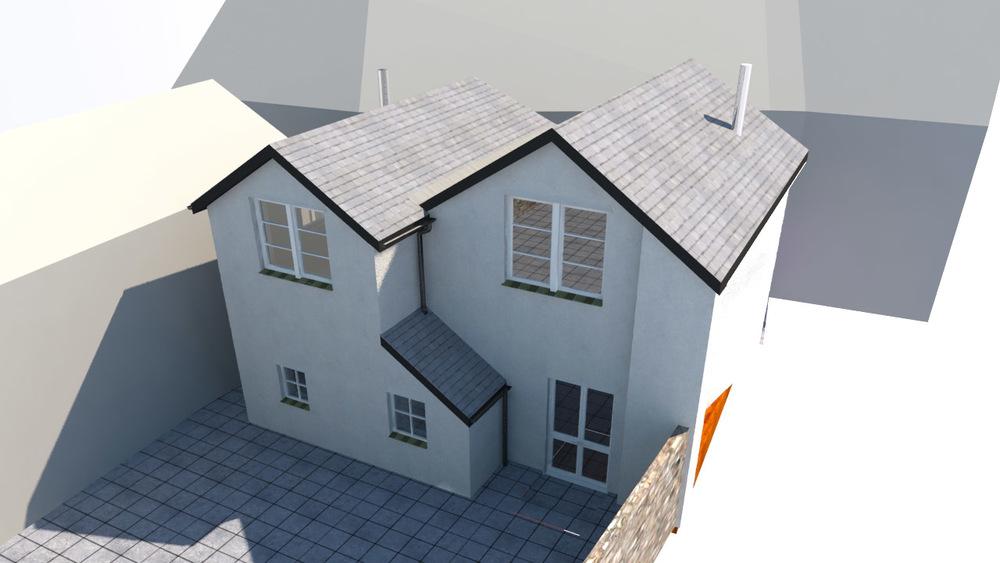 3D model of proposed design