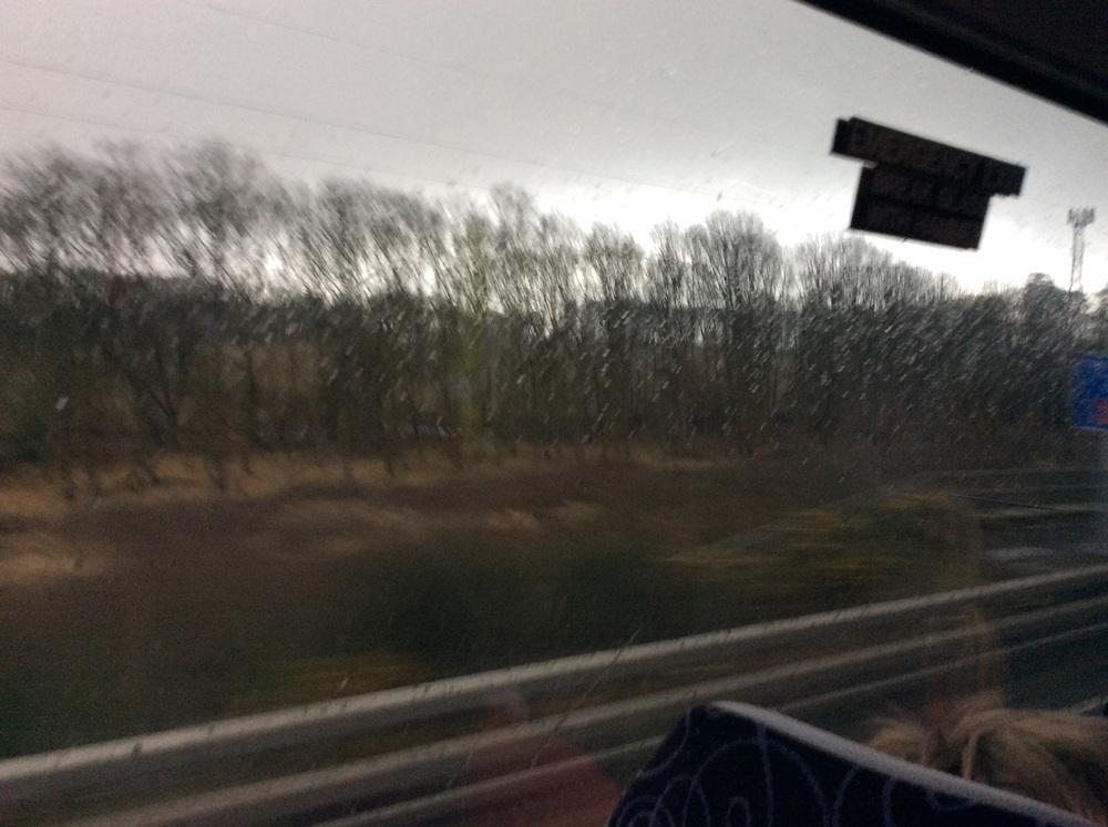 Rain, clouds, rain, puddles, rain, spray, rain....... ...