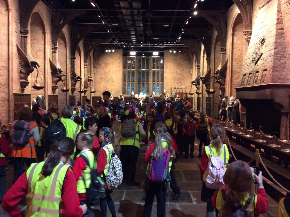 Entering the Great Hall....