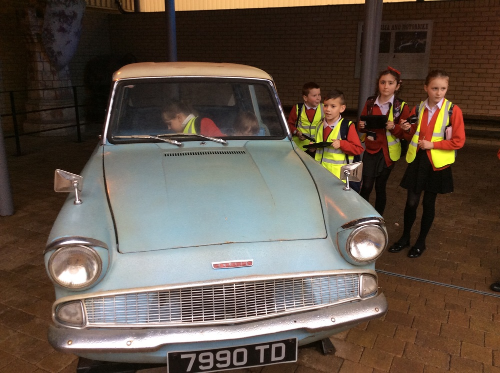 So how many Year 5's can you get in a Ford Anglia...?