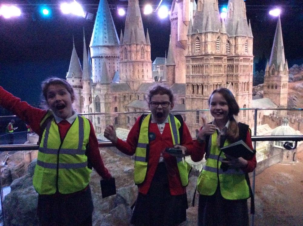 Hogwarts emerges ....