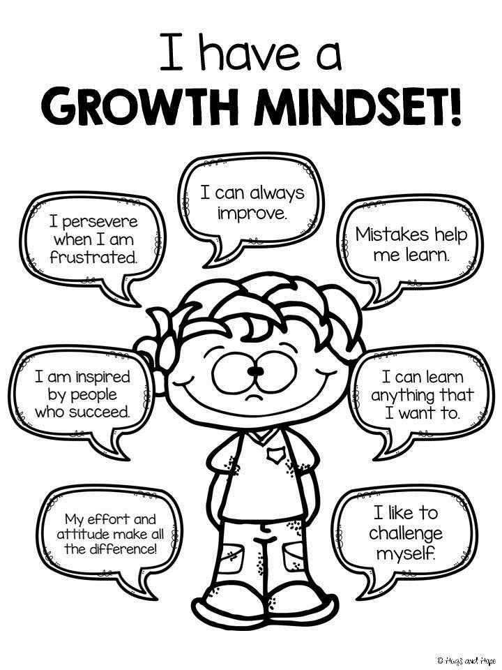 An example of a child who has a great mindset!