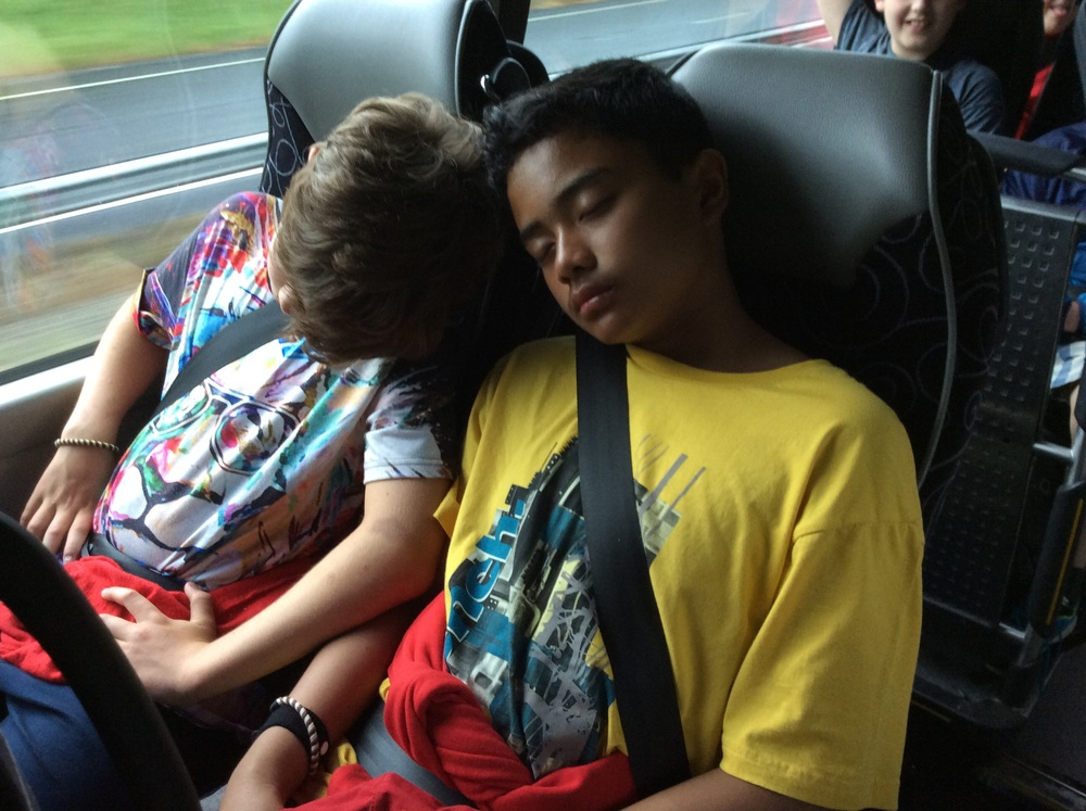 It's been a super week, we're all feeling a little tired now though.