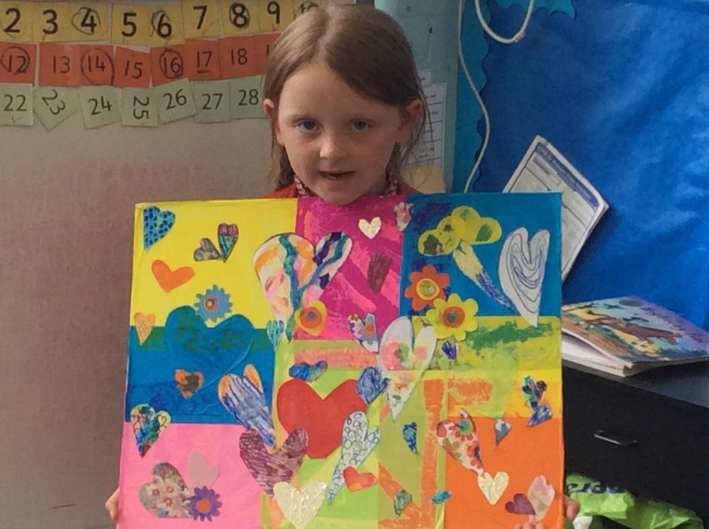 Jim Dine inspired art work
