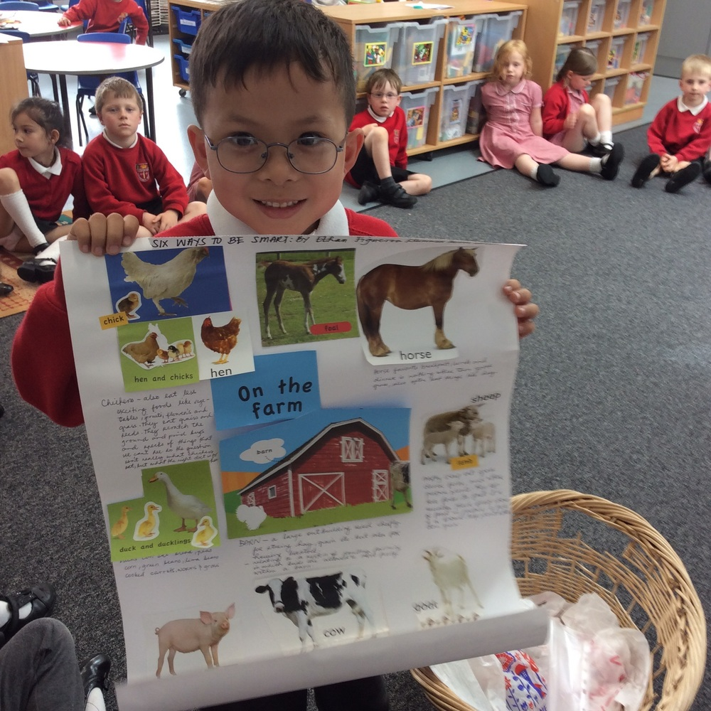 Information about lots of farm animals.