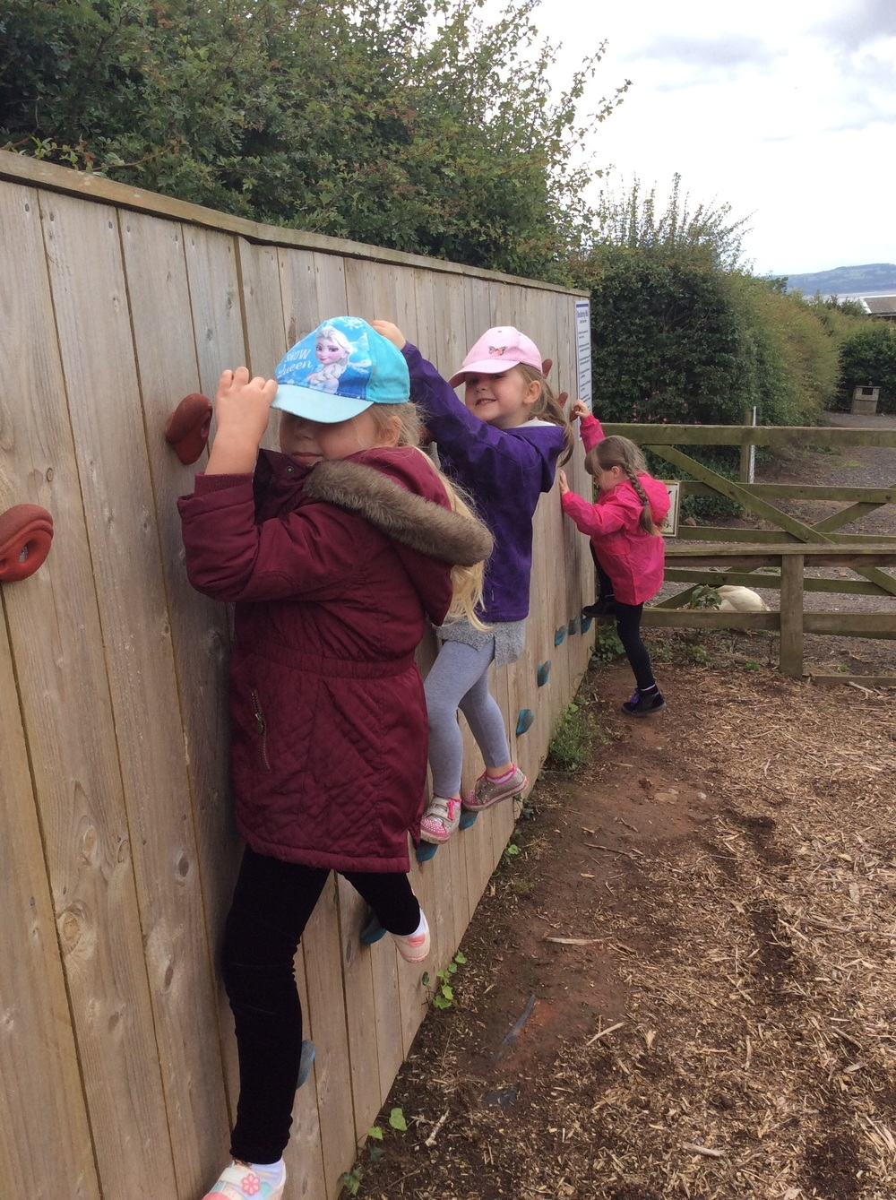 Time for fun on the adventure playground