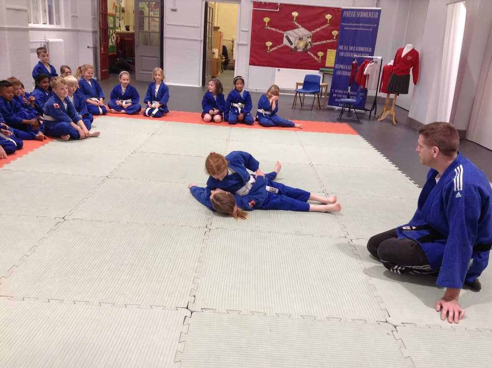 Year 3 try Judo.