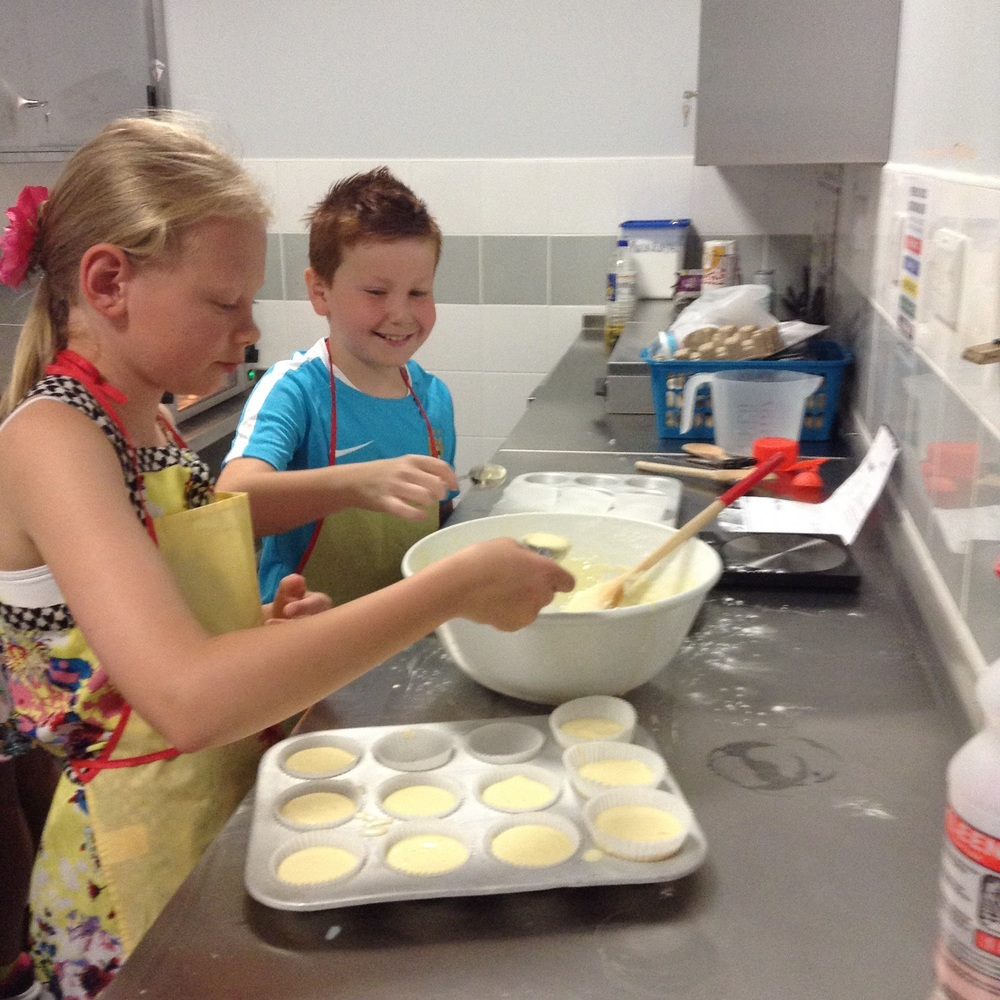 Year 4 baking Brazilian cheese bread.