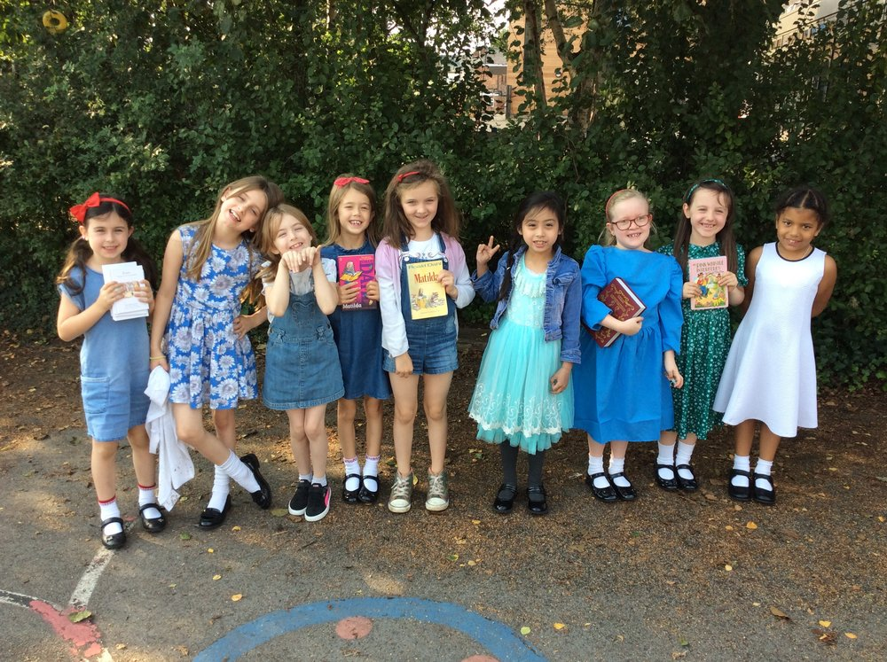 Nine cute Matildas escape the wicked clutches of Miss Trunchbull