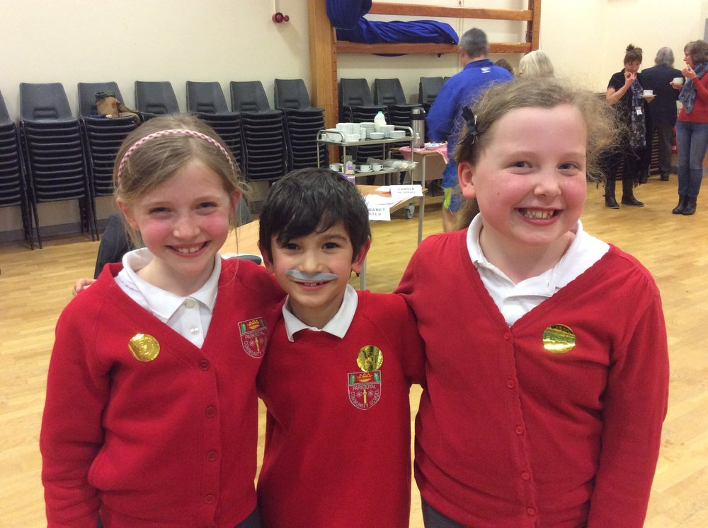 Charlotte, Luke and Lily - the fantastic three!