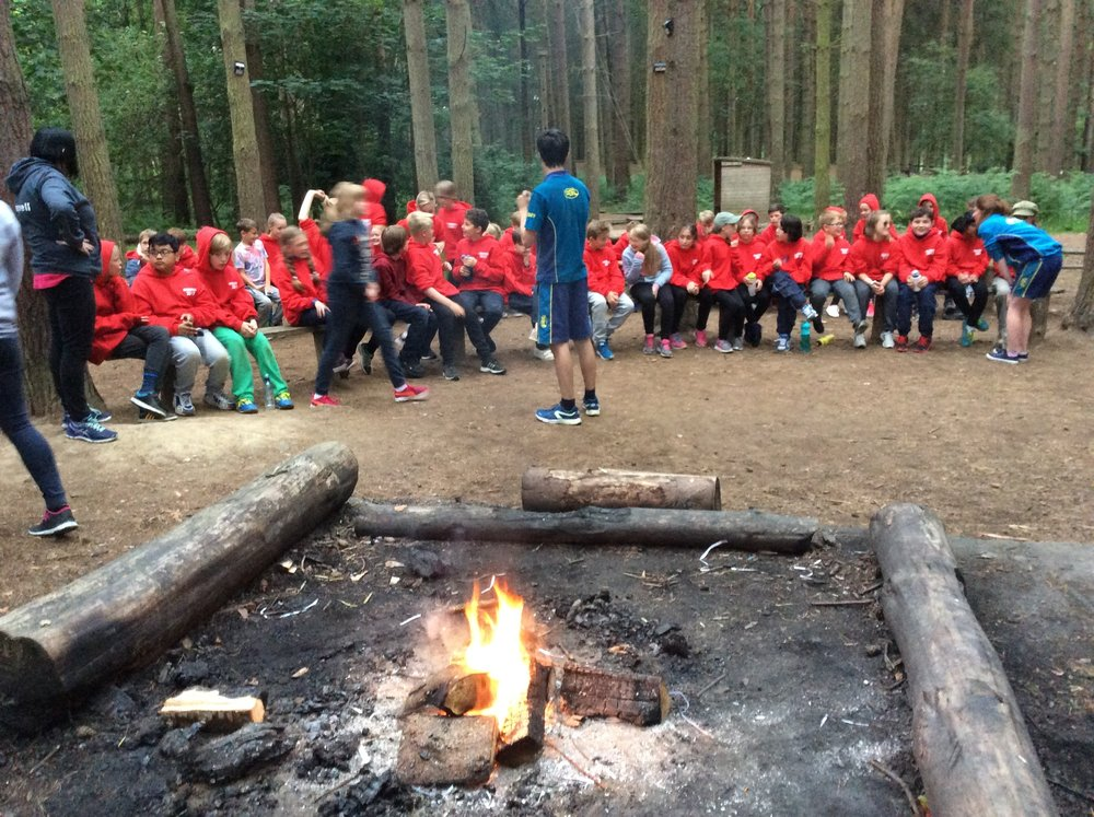 The campfire was one of our favourite evening activities ... we loved singing songs (with the help of Mr SIndon!) and eating toasted marshmallows