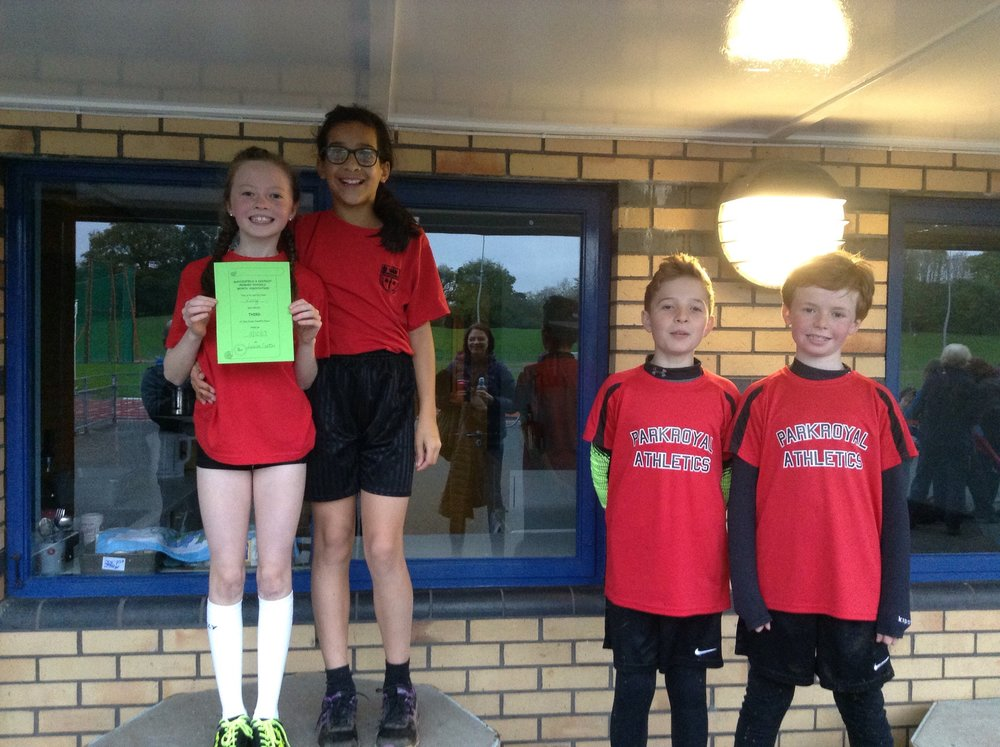 Some of the Year 5 and 6 winning team members