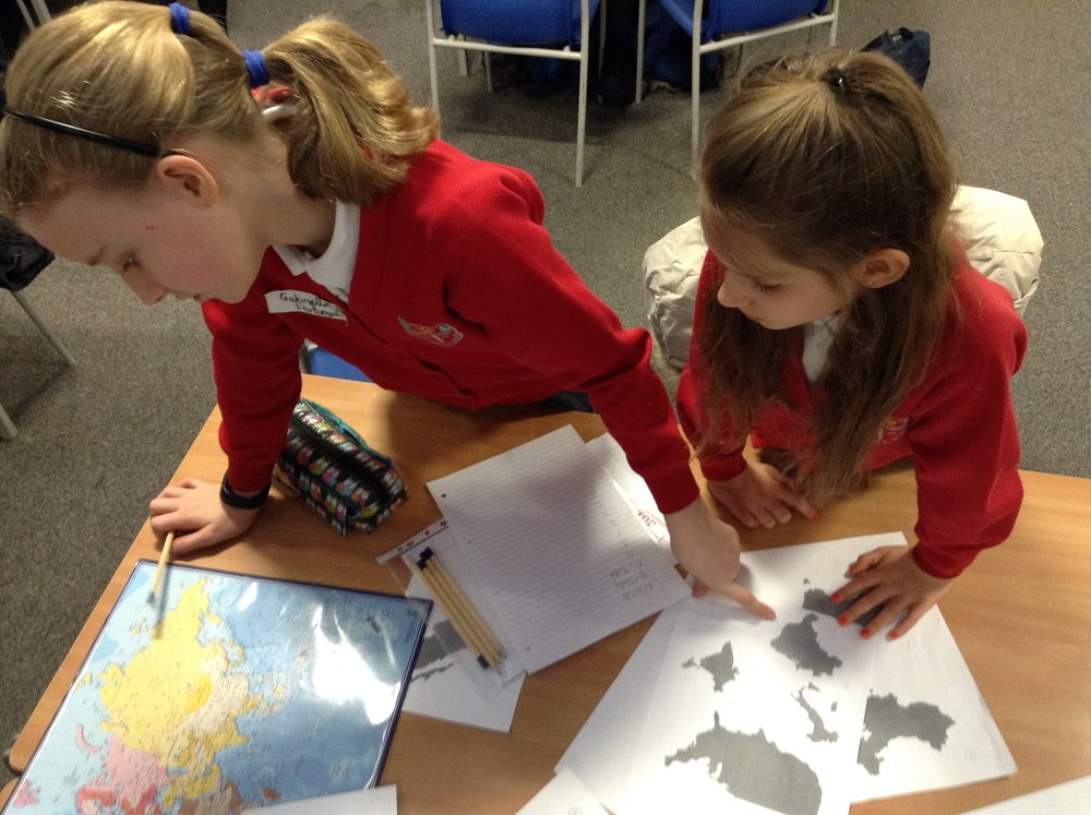 Geography knowledge put to the test.