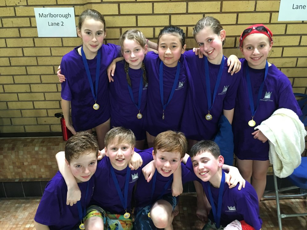 Swimming Gala team