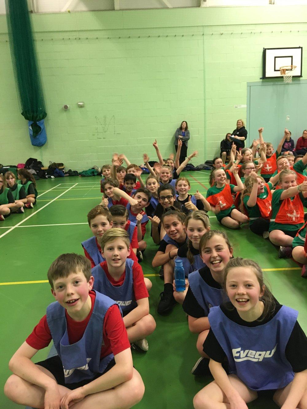 Y5/6 athletics team