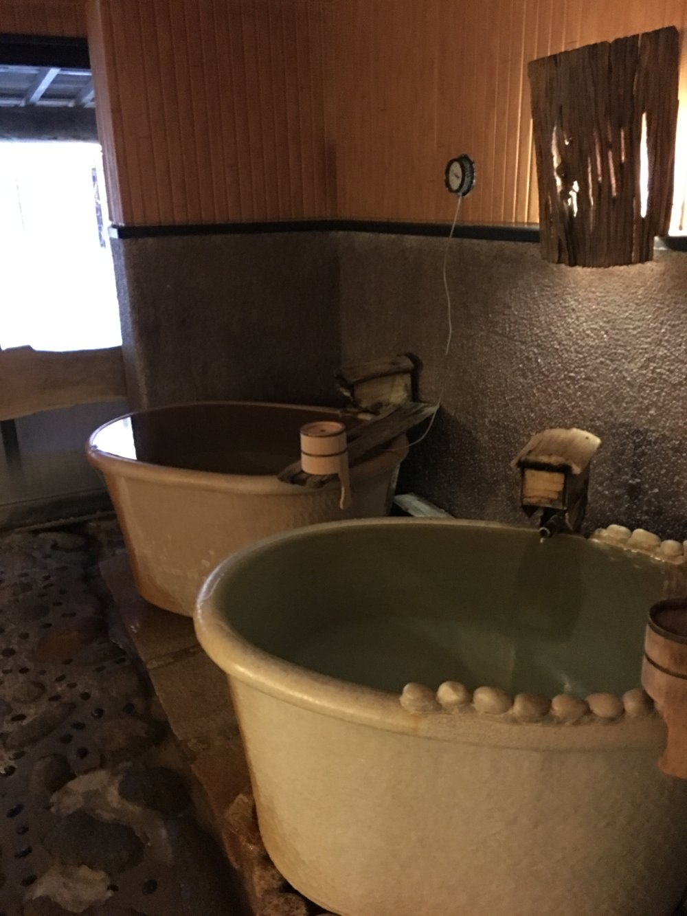 This hot bath is a carbonated hot spring having two of its kind here (one for men and one for women in separate locations).