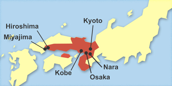 Kansai Hiroshima Area Pass Amnet