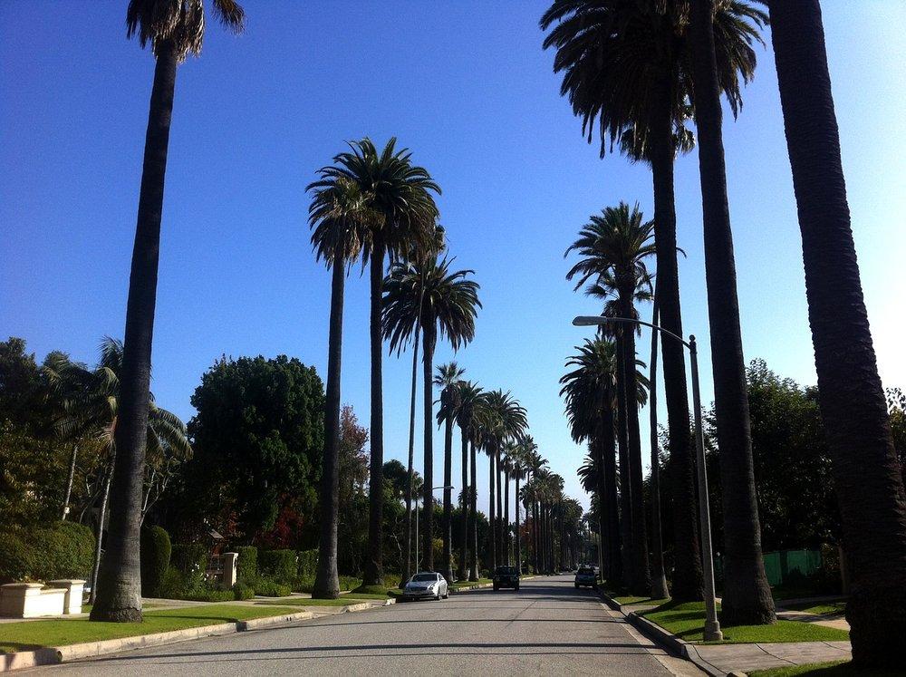 ロサンゼルス街並み