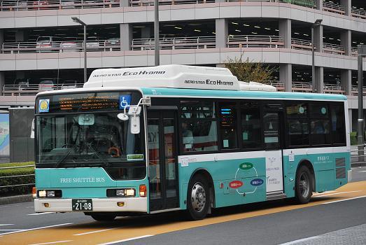 羽田空港内シャトルバス(国際線ターミナル⇔国内線ターミナル)