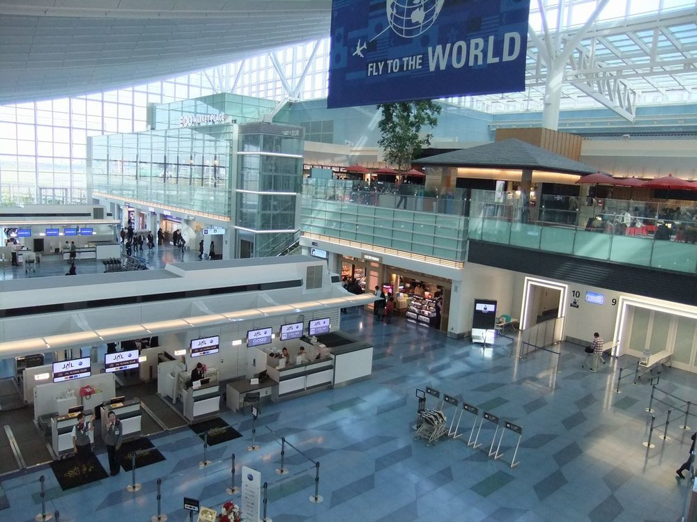 羽田空港(国際線ターミナル)