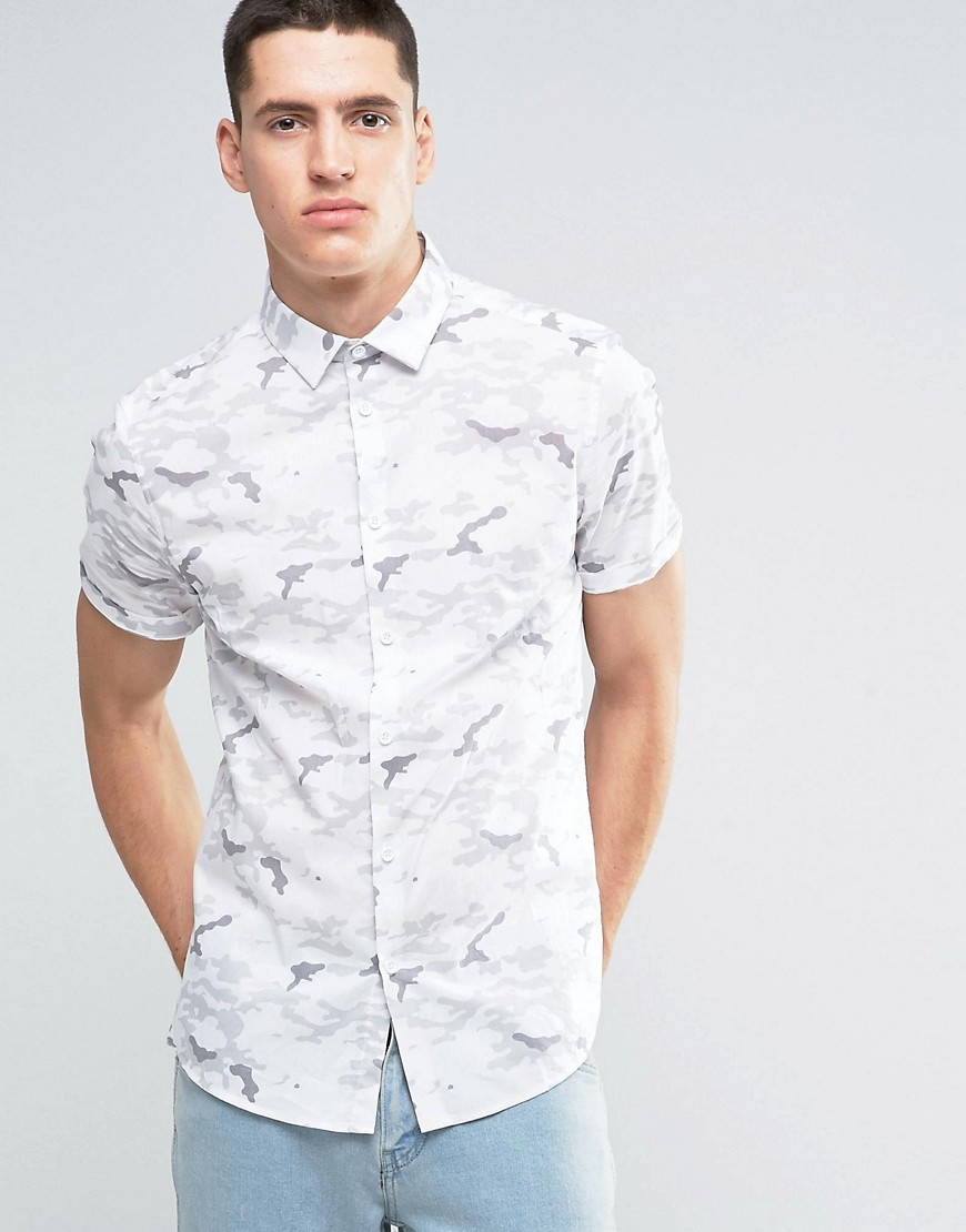 Asos -  Short Sleeve Shirts  (Featured : Asos - Camo Short Sleeve)