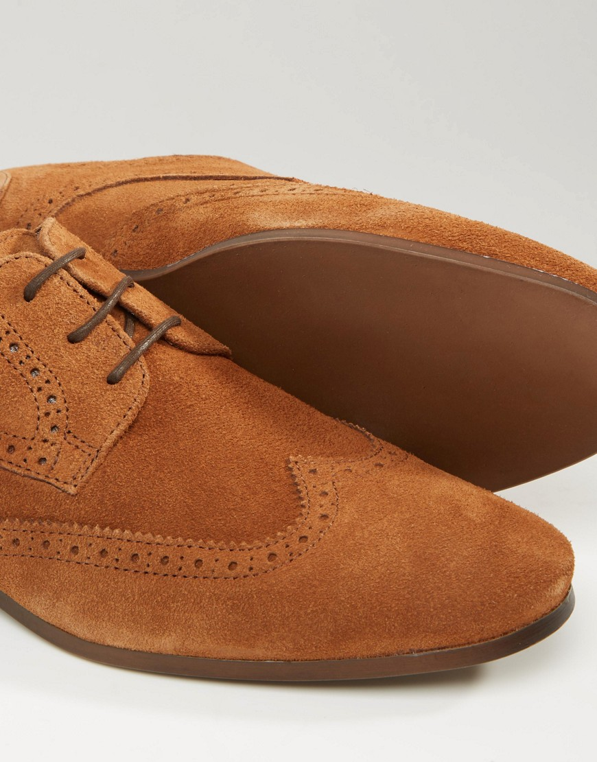 River Island via Asos - Suede Brogues