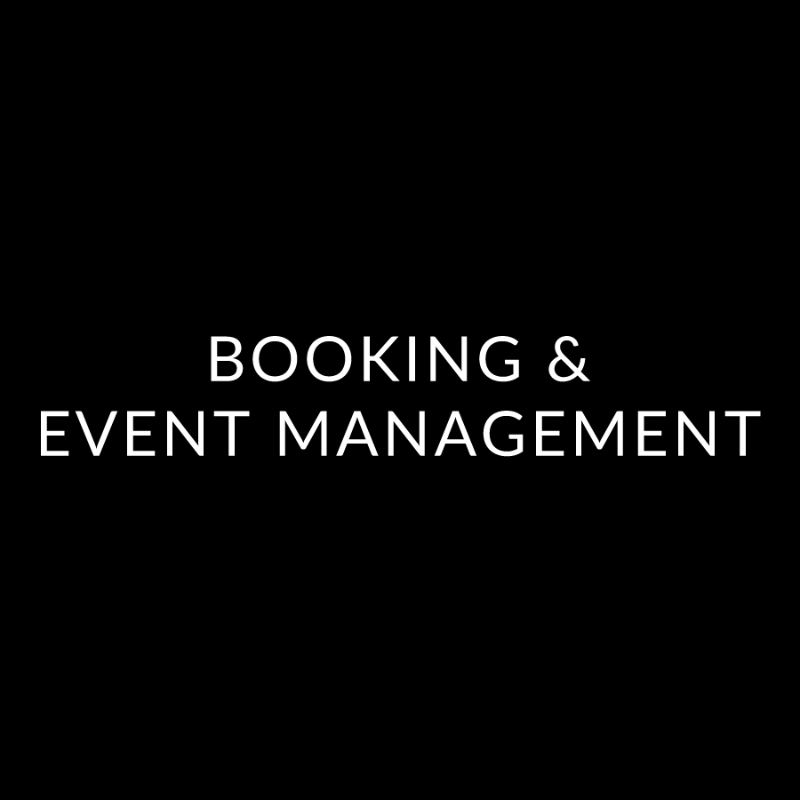 Booking and Event Management