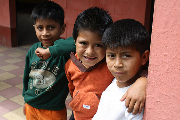 DUSC players visiting Guatemala with Soccer Recycle made many friends.