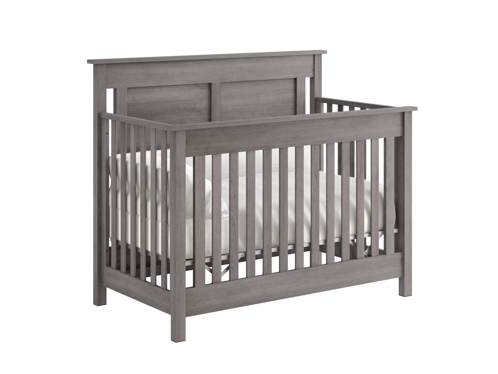 Hampton Crib in Storm Grey