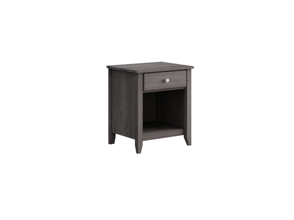 Hastings Night Stand in Storm Grey