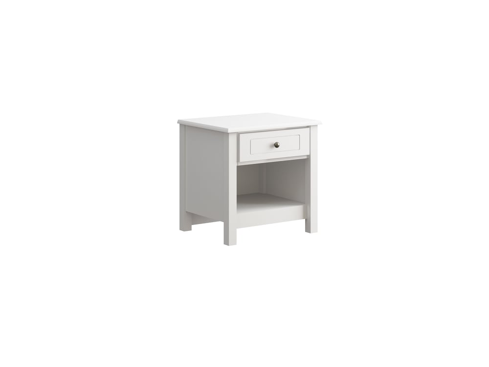 Hampton Night Stand in White