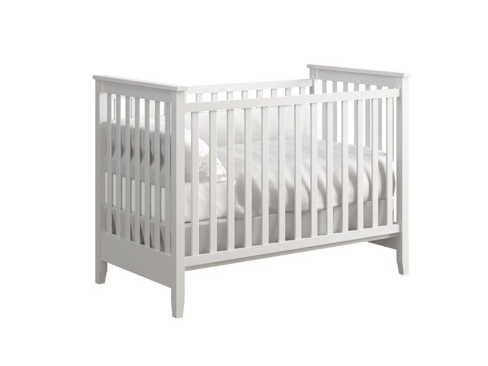 Hastings Crib in White