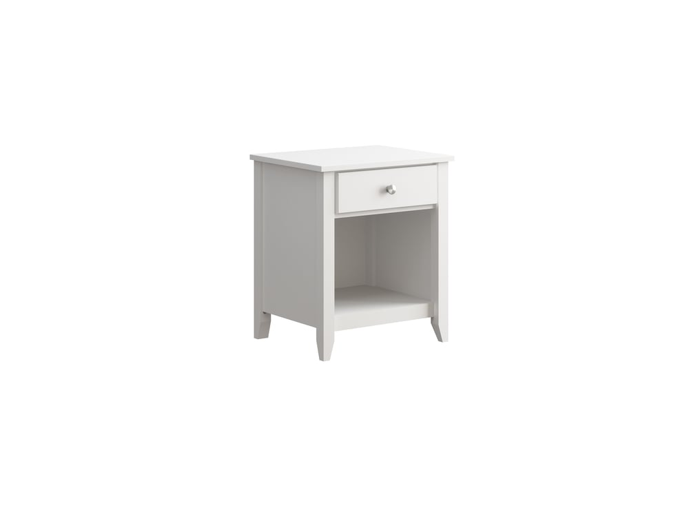 Hastings Night Stand in White