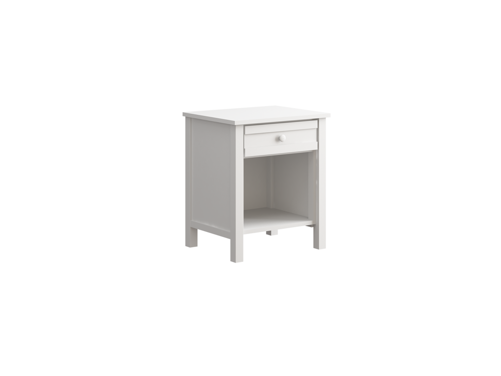 Terrace Night Stand in White