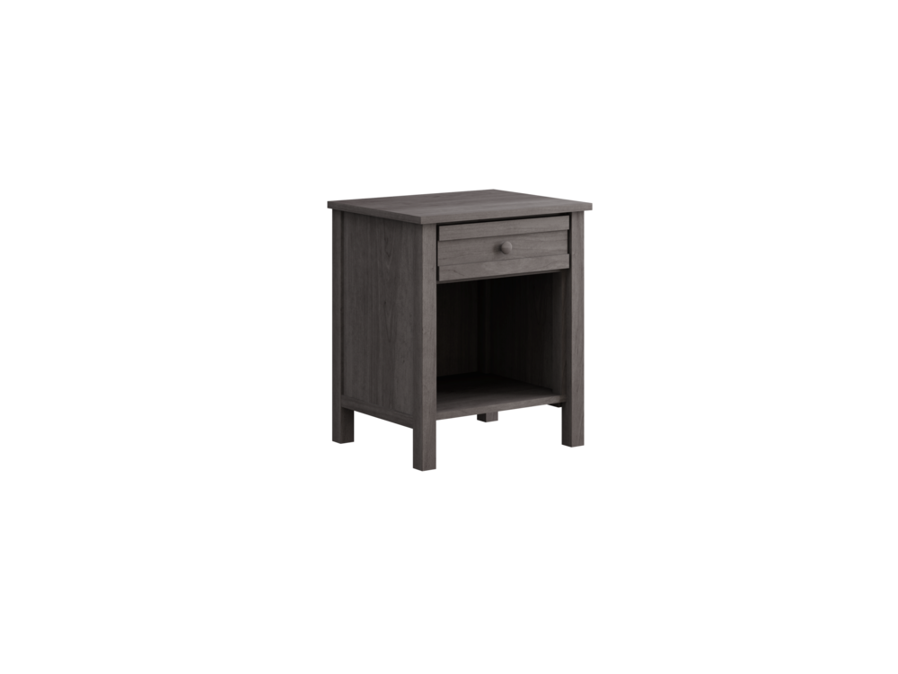 Terrace Night Stand in Storm Grey