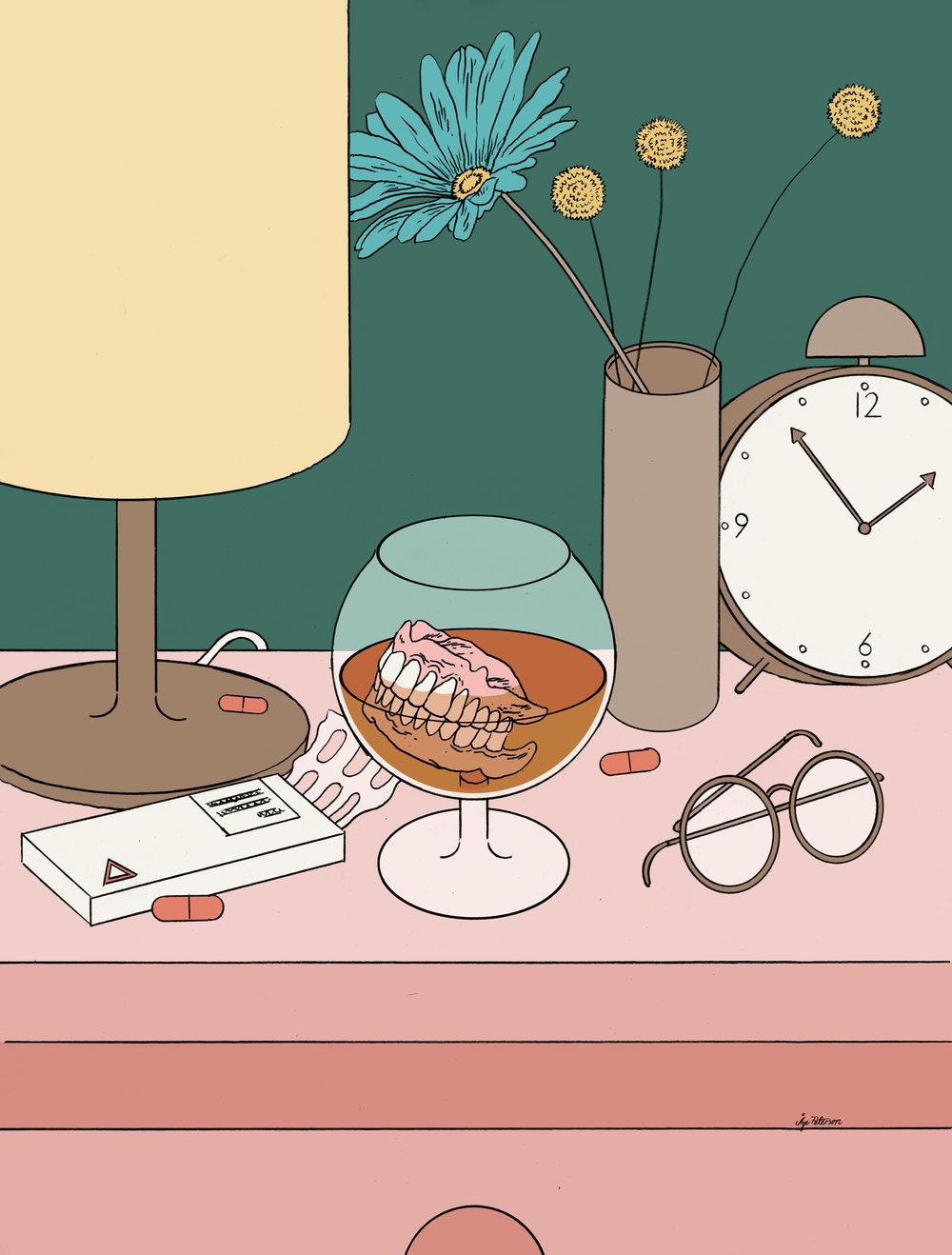 Eldres rusvaner – en ny helseutfordring?  Essay written by Linn-Heidi Lunde.