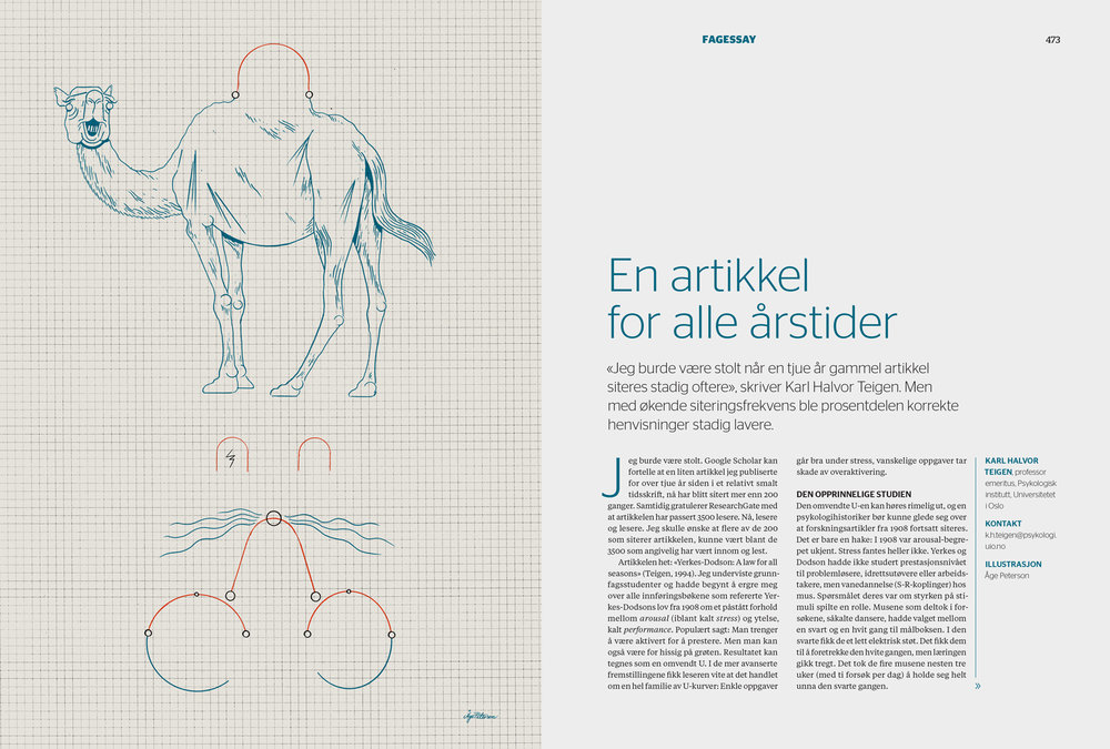 Extract from the beginning spread. Editorial design by Laboremus.