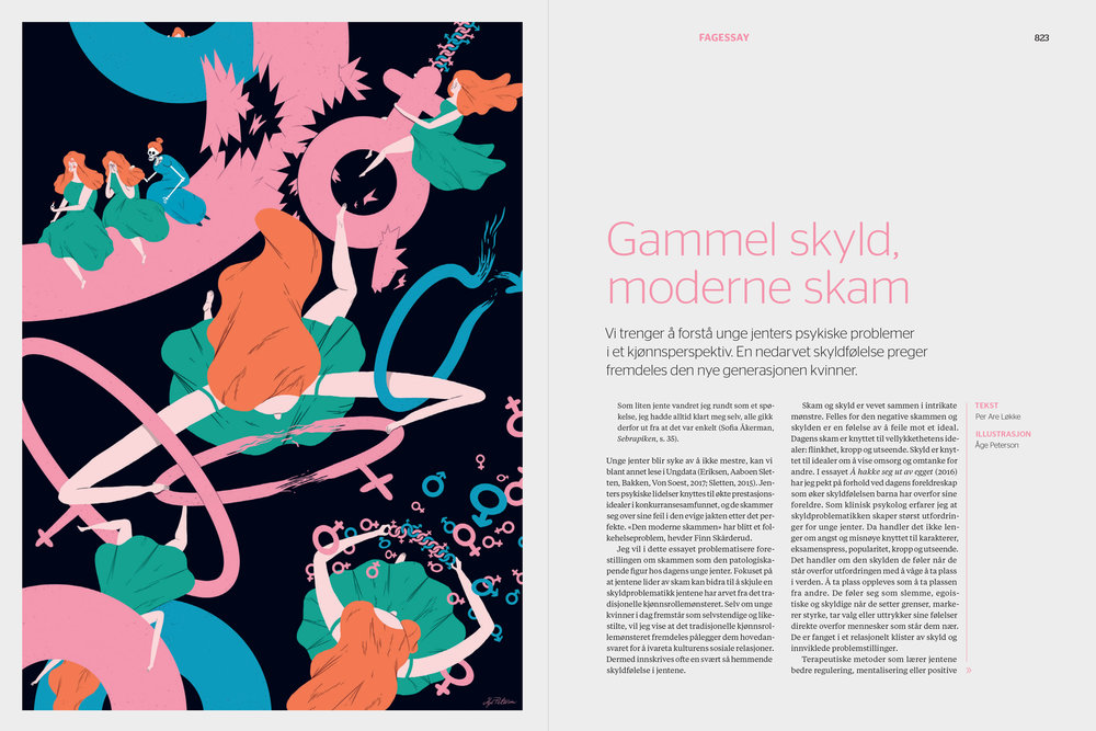 Opening spread. Editorial design by  Laboremus .