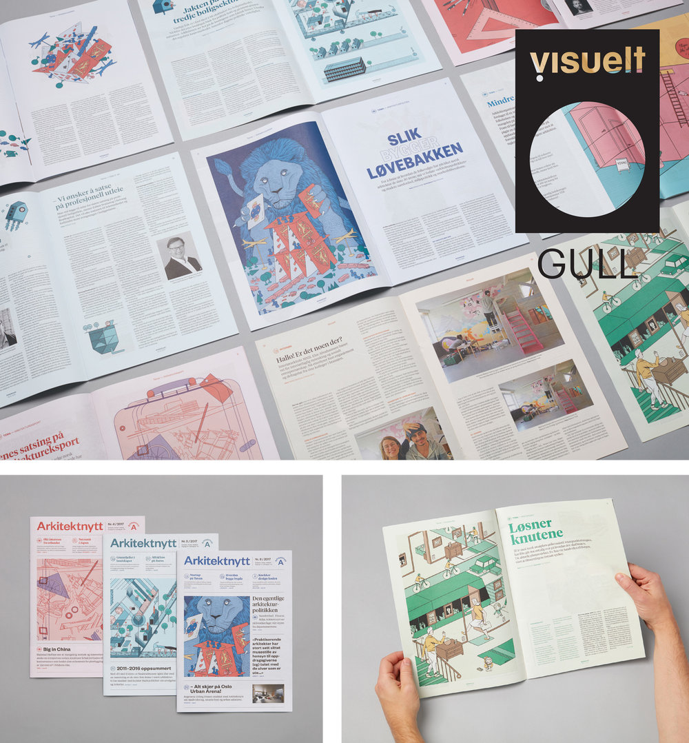 Examples of covers and spreads from Arkitektnytt in 2017, beautifully redesigned by Bielke&Yang. So happy to be a part of the team as editorial illustrator.